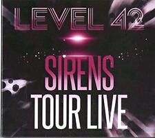 Level 42 - Sirens Tour Live (NEW 2CD+DVD)