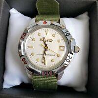 Wrist Watch Komandirskie Vostok Soviet USSR
