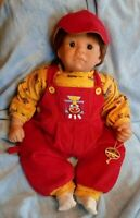 "Lee Middleton 20""vinyl baby boy L.E. doll completely refreshed, see description"