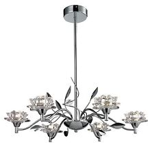 TP24 Piccadilly Ruislip 6x3W LED pendentif chrome verre lumière plafond