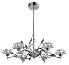 TP24 Piccadilly Ruislip 6x3W LED pendant chrome glass ceiling light