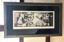 """Framed Edition Print Pablo Picasso Guernica Framed Size 55x32.5"""""""