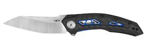 Zero Tolerance 0762 Frame Lock Knife Black Carbon Fiber 20CV Stainless