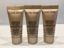 3 x Lancome Absolue Soft Cream with Grand Rose Extracts 5 ml/.16 oz Exp 10/2022