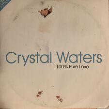 CD Single: Crystal Waters - 100% Pure Love