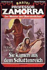Professor Zamorra Nr. 0038 ***Zustand 1-2***