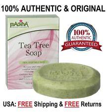 TEA TREE Soap Bar w/ All Natural Essential Oil/Parsley/Vitamin E/Kava Kava/Cocoa