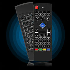 2,4GHz Backlight Wireless Keyboard IR Remote Air Fly Mouse for Android TV Box