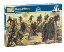 ITALERI 1/72 D.A.K. Afrika Korps FANTERIA SECONDA GUERRA MONDIALE # 6099