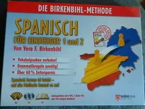 Spanisch für Einsteiger 1+2 nach der Birkenbihl-Methode   AUDIOSPRACHKURS mit CD