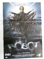ROBOT 2010 RAJINIKANT AISHWARYA Rare Poster Bollywood India Hindi