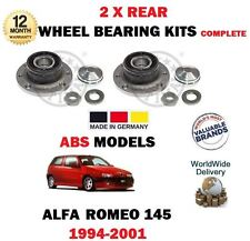 para ALFA ROMEO 145 930 1994-2001 NUEVO 2x cojinete de rueda trasera KITS CON
