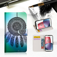 Dream Catcher Wallet TPU Case Cover For Motorola Moto X Force-- A026