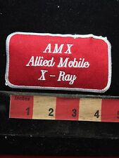 Vtg Medical Patch - Allied Mobile X-Ray C76N