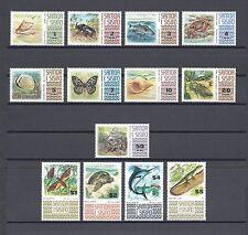 SAMOA 1972-76 SG 390/9C MNH Cat £22