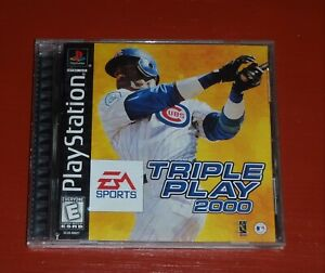 Triple Play 2000 (Sony PlayStation 1, 1999 PS1)-Complete