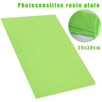 20x30cm Resin Clear Letterpress Photopolymer Plate Rubber Stamp Making DIY Craft
