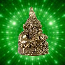 Thai Amulet Giant Phra Rahu Om chan ( Moon Eater) Magic Talisman Wealth Fetish