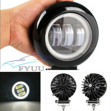 "1*Waterproof Round 6D Lens 5"" Car Offroad LED Work Light Angel Eyes Driving Lamp"