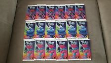 TOPPS TROLLS WORLD TOUR TRADING CARD 18 PACKETS SEALED  WORLD TOUR CARD PACKS