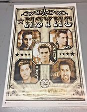 Vintage N SYNC - FACES - NO STRINGS ATTACHED Poster 22x35 inches (NSYNC)