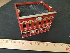 Structures layout model ho train TWO STORY GEMINI BUILDING WITH ADDS IN WNDOWS