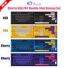 Akko 157 key Cherry Profile Keycaps Set PBT For MX Mechanical Keyboard Gift A++