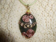 Beautiful Celtic Irish Claddagh Connemara Necklace