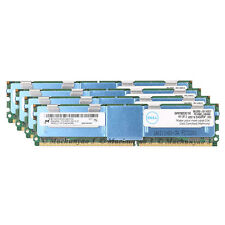 NEW 32GB 4x8GB 4Rx4 PC2-5300F DDR2-667MH​z 240pin ECC Fully Buffered FB-DIMM RAM