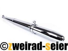 Auspuff Auspufftopf Spitztüte Simson Schwalbe Spatz Star Sperber Habicht DUO