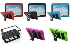 """For Samsung Galaxy Tab 4 10.1""""/ T530 Tablet Kids Armor Cover Hard Case w/ Stand"""