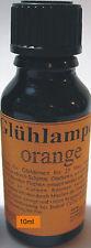 (189,00€/L) 10ml Glühlampen Tauchlack orange Lampenlack Neu ab Großlager