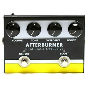JET CITY AMPLIFICATION AFTERBURNER DUAL-STAGE OVERDRIVE Guitar Effect Pedal