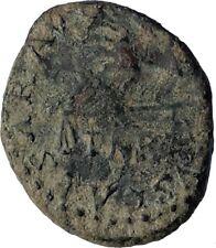 CLAUDIUS Authentic Ancient 41AD Rome Qudrans Gneuine Roman Coin SCALES i71738