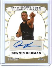 Dennis Rodman 2016 Leaf Wrestling Signature Series Authentic Autograph Card FD30