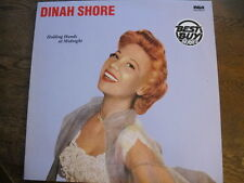 Holding Hands at Midnight - Dinah Shore - 1956 LP - Jazz, Vocal, Stage Screen