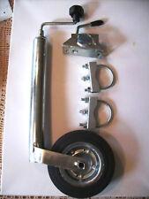 6052 mit Halter luftbereiftes Winterhoff Stützrad 150kg 48mm Aufnahme Art-Nr