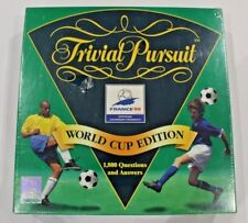 133 Trivial Pursuit Question Cards From World Cup France 98 Edition VGC