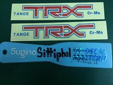 Tange TRX Forks Decal  Reproduction Kuwahara Pk Ripper Skyway OldSchool OS BMX