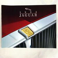 1994 Jaguar Full Lineup Sales Brochure XJS Convertible XJS Coupe XJ6 XJ12 NEW