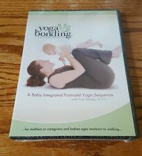 Yoga Bonding: A Baby Integrated Postnatal Yoga Sequence (DVD) Lisa Bergly NEW