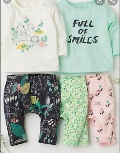 Organic cotton Baby Girl Next 3-6 Months Leggings Tops Outfit Bundle set Spring