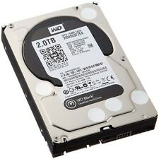 "2TB Nero Western Digital (7200rpm) SATA 6Gb/s 64MB 3.5"" Hard Drive (interno)"