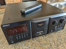Refurbished Sony Cdp-Cx355 300 Disc Cd Megachanger`Player Remote Original Owner