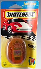Vintage Matchbox Glycerin Soap Bar With Toy Car Inside