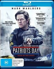 Patriots Day Blu-ray NEW Mark Wahlberg digital ultraviolet based on true events