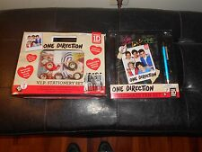 1D One Direction Ultimate Fan Set and VIP Stationary set  Lot  Great Gift
