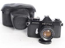 PENTAX SPOTMATIC SP II film 35 mm Manuel De Caméra + takumar 55 mm f1.8 lens (4453R)