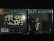 CD FATS DOMINO / LIVE AT MONTREUX