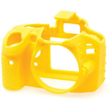 easyCover Protective Skin - Camera Cover for Nikon D3200 Camera (Yellow)